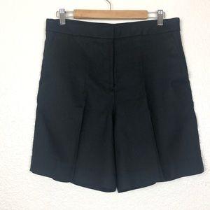J. Crew Bermuda shorts black sz 8